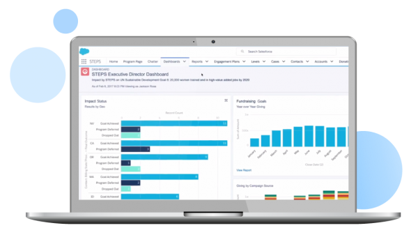 Salesforce nonprofit software